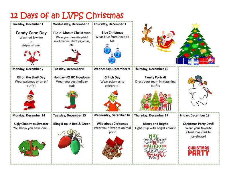 12 Days of LVPSPBC Christmas! Thumbnail Image