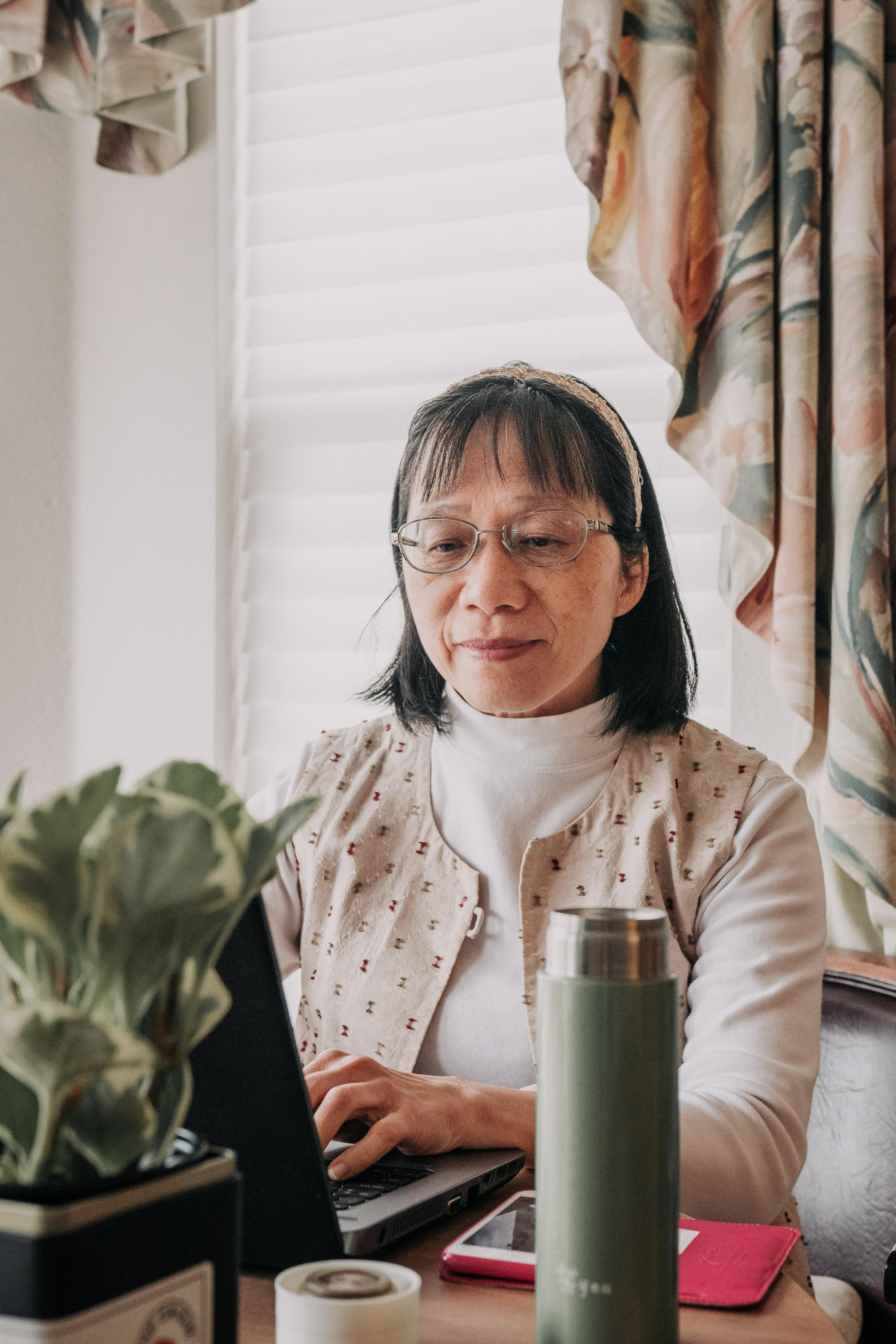 Chinese teacher online teaching