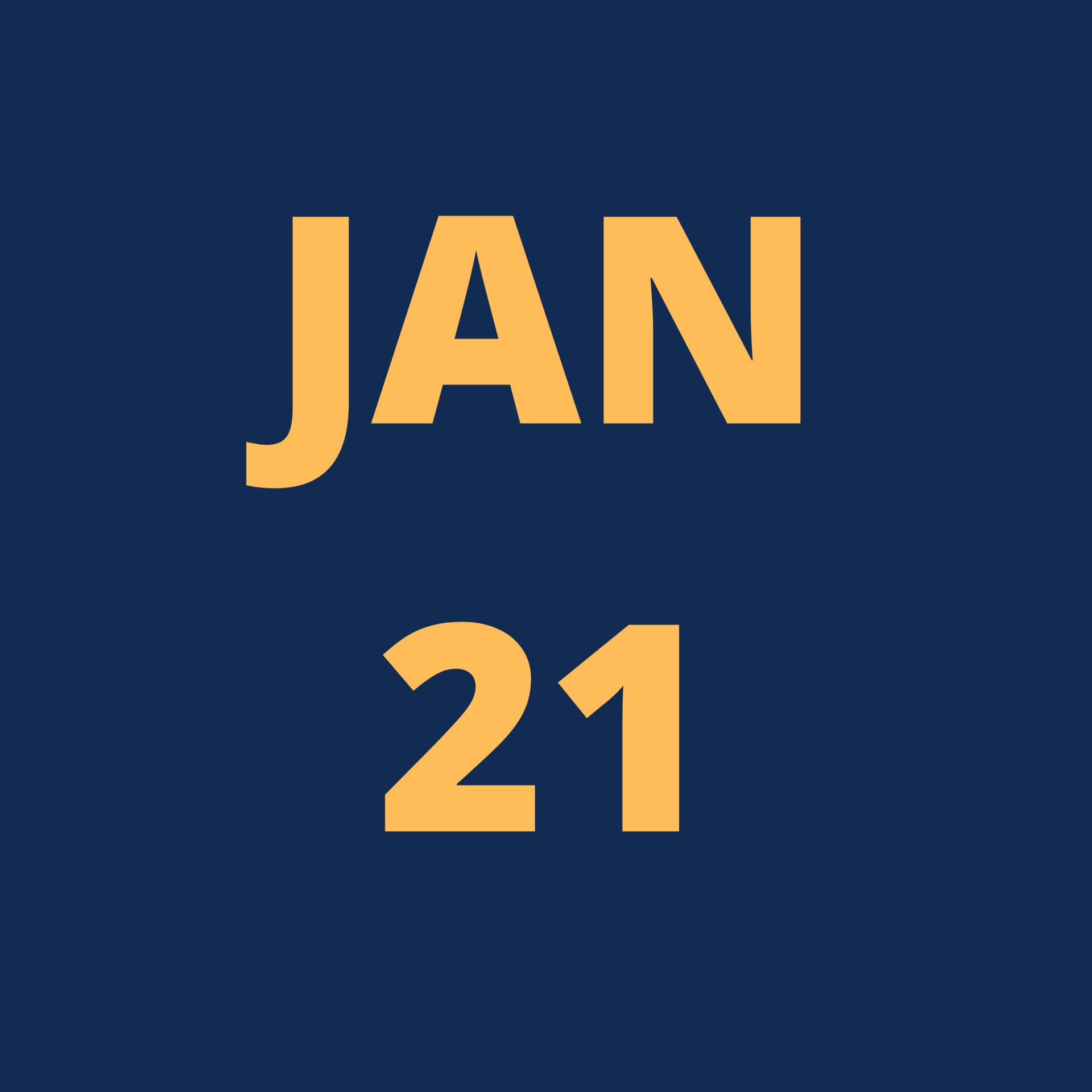 Jan 21 Icon