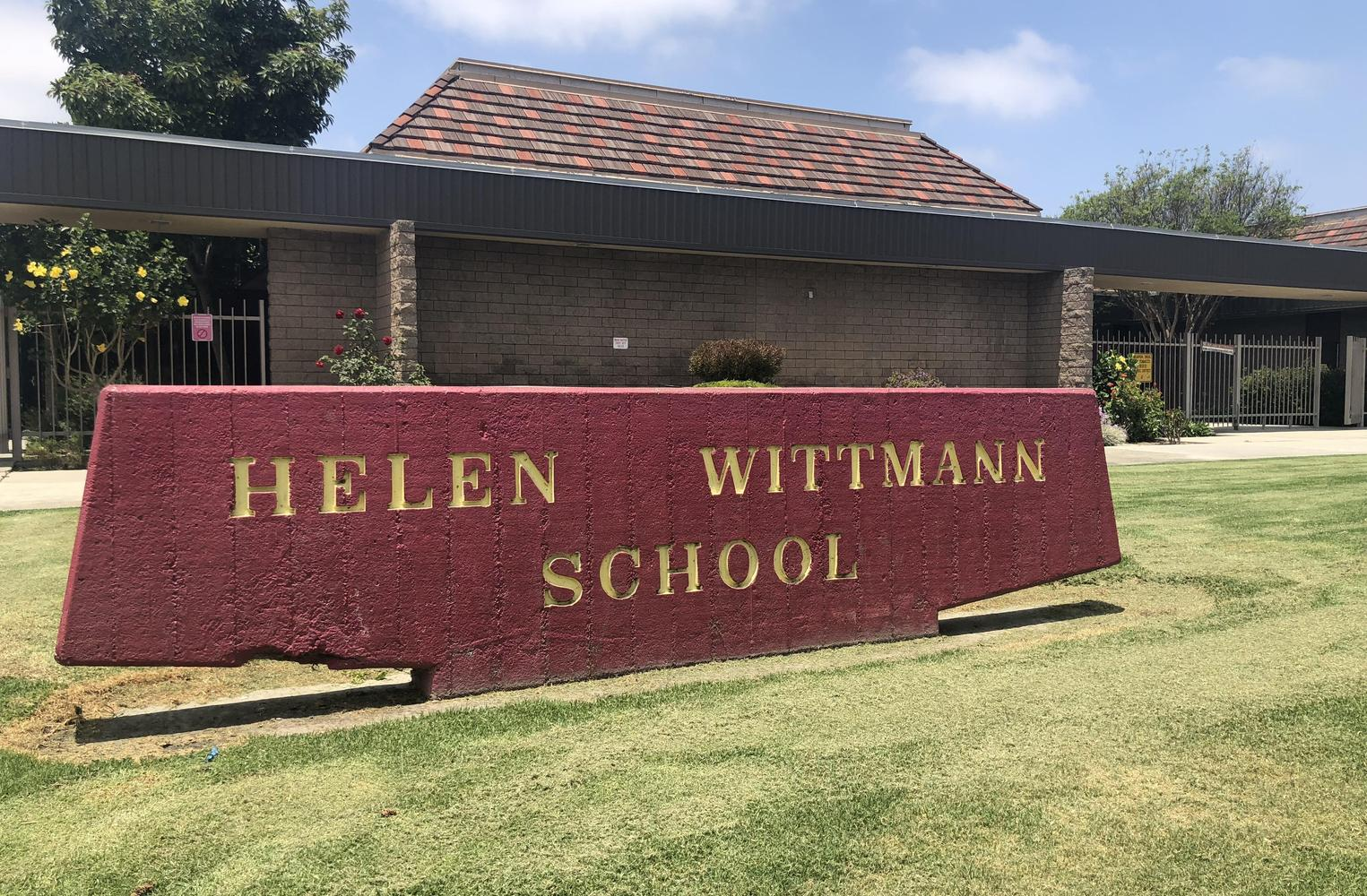 Wittmann's Front of School