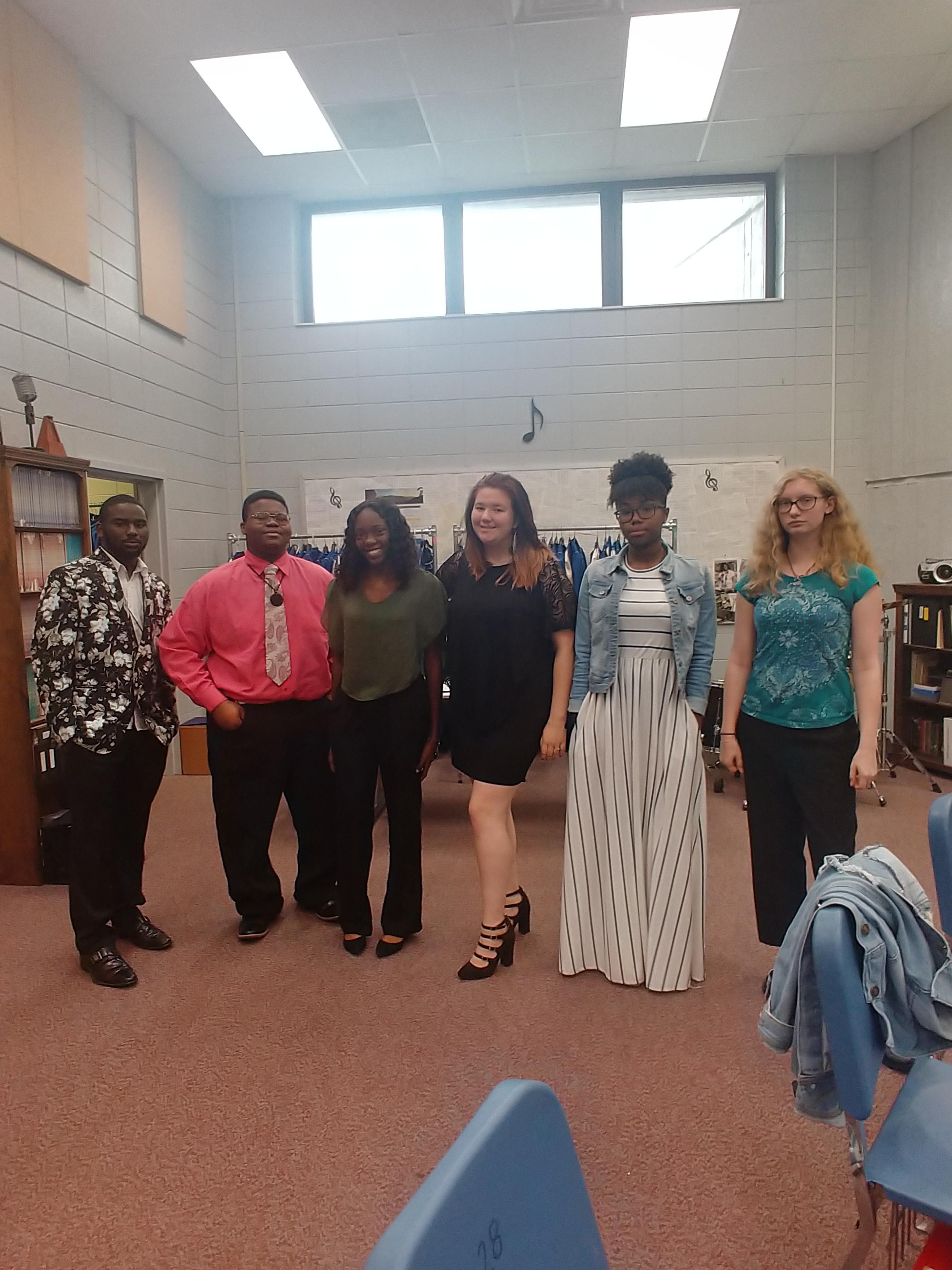BCHS Fine Arts Dept. 2019-2020 School Year - Dress for Success Wednesdays