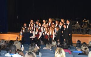 Strayer Middle School choir performs Messa di Voce