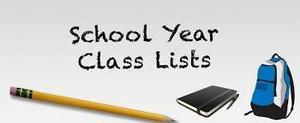 School year class list