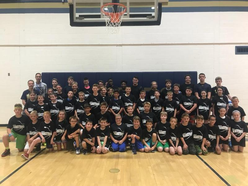 pic of boys who participated in camp