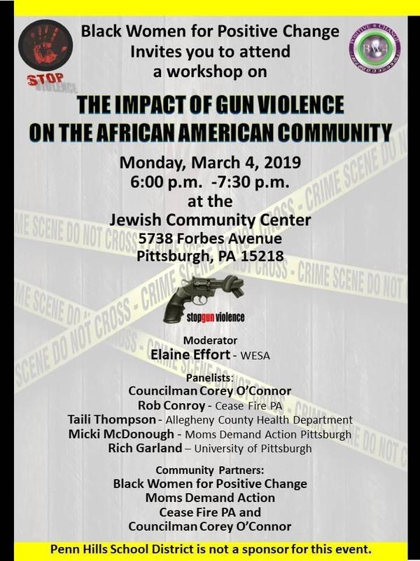 workshop on gun violence