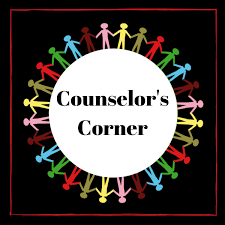 Counselor Corner with multiple color people in a circle