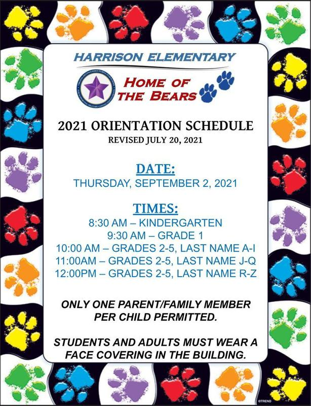 2021-22 Orientation Schedule Featured Photo