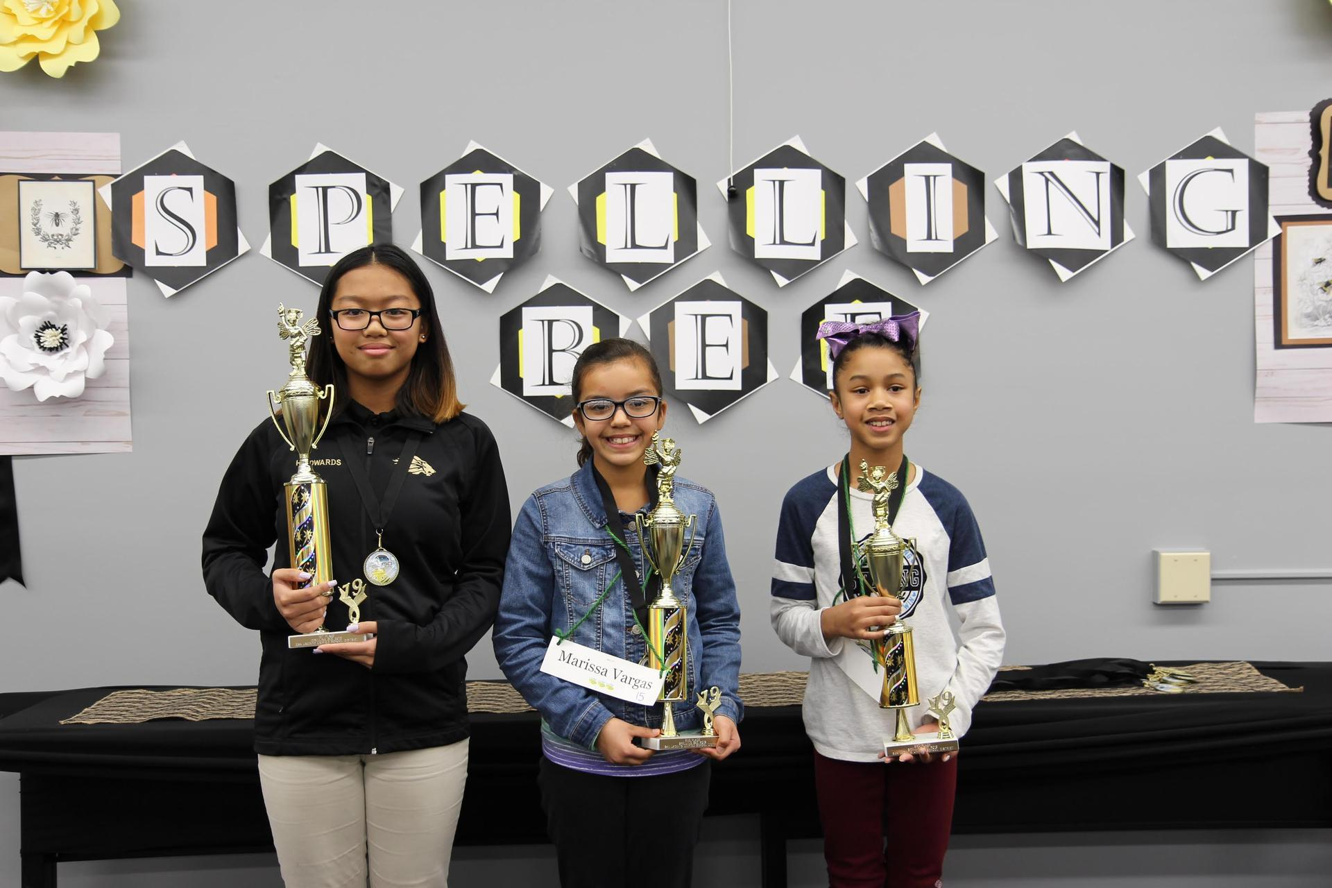 1st, 2nd, & 3rd place winners
