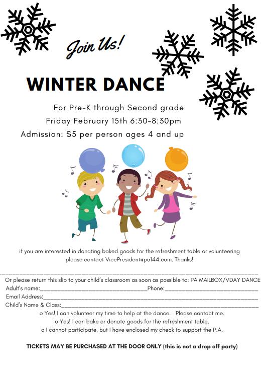 Winter Dance Featured Photo