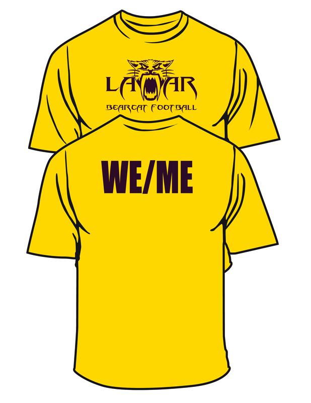 LAMAR FOOTBALL 2019 T-Shirt.png