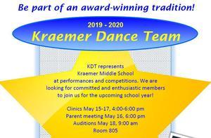 2019-2020 Kraemer Dance Team