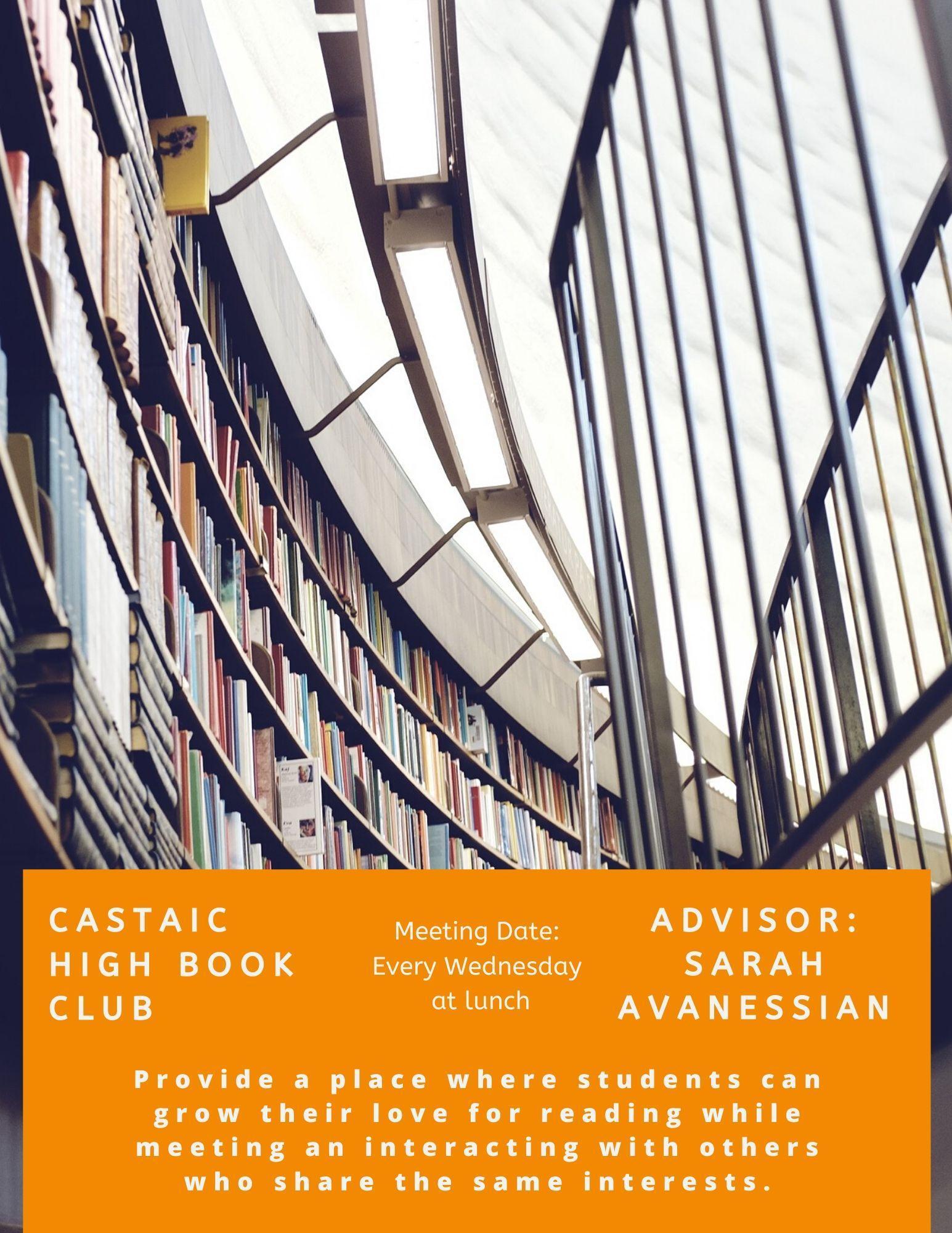Castaic High Book Club