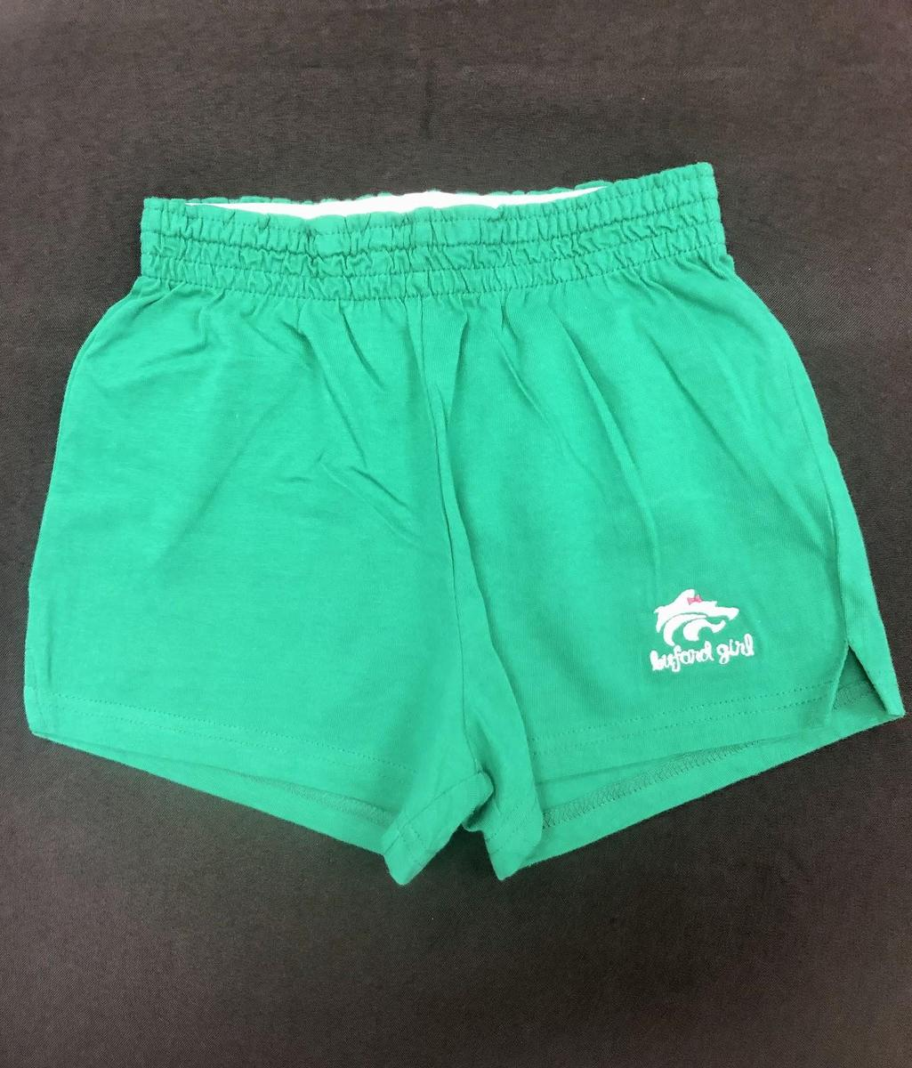 Green Cheer Shorts