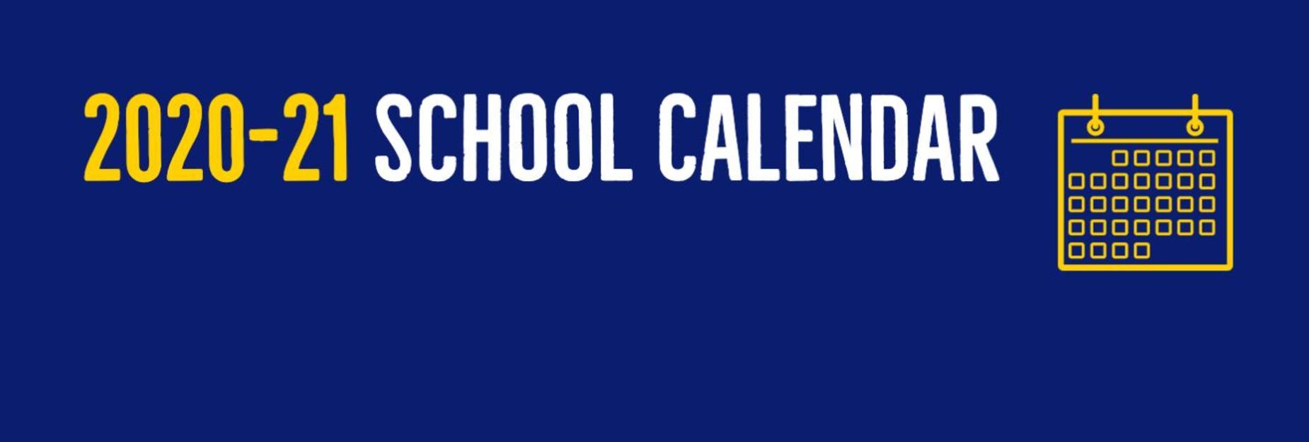 20-21 academic calendar