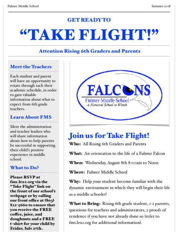 Take Flight Flyer