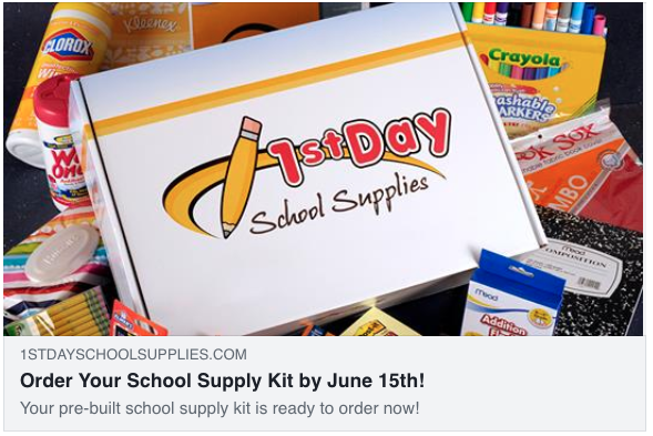 Order school supplies for next year! Featured Photo