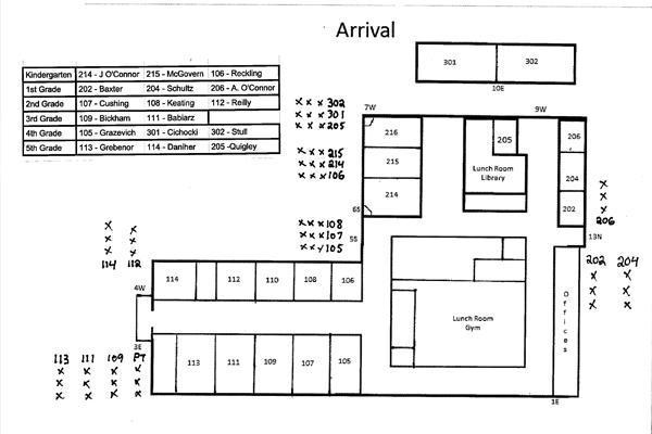 Southwest School Maps for Arrival Thumbnail Image