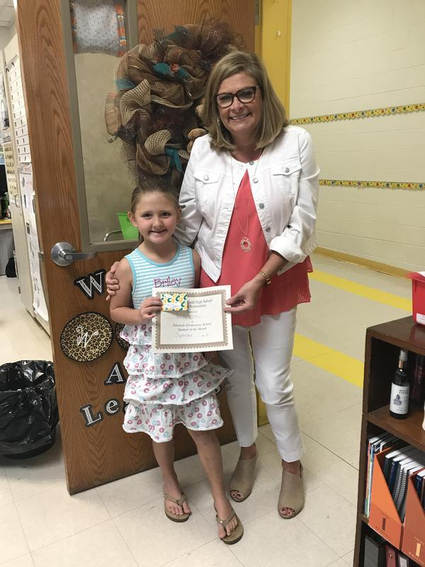 September Student of the Month Featured Photo