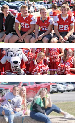 pictures of homecoming parade