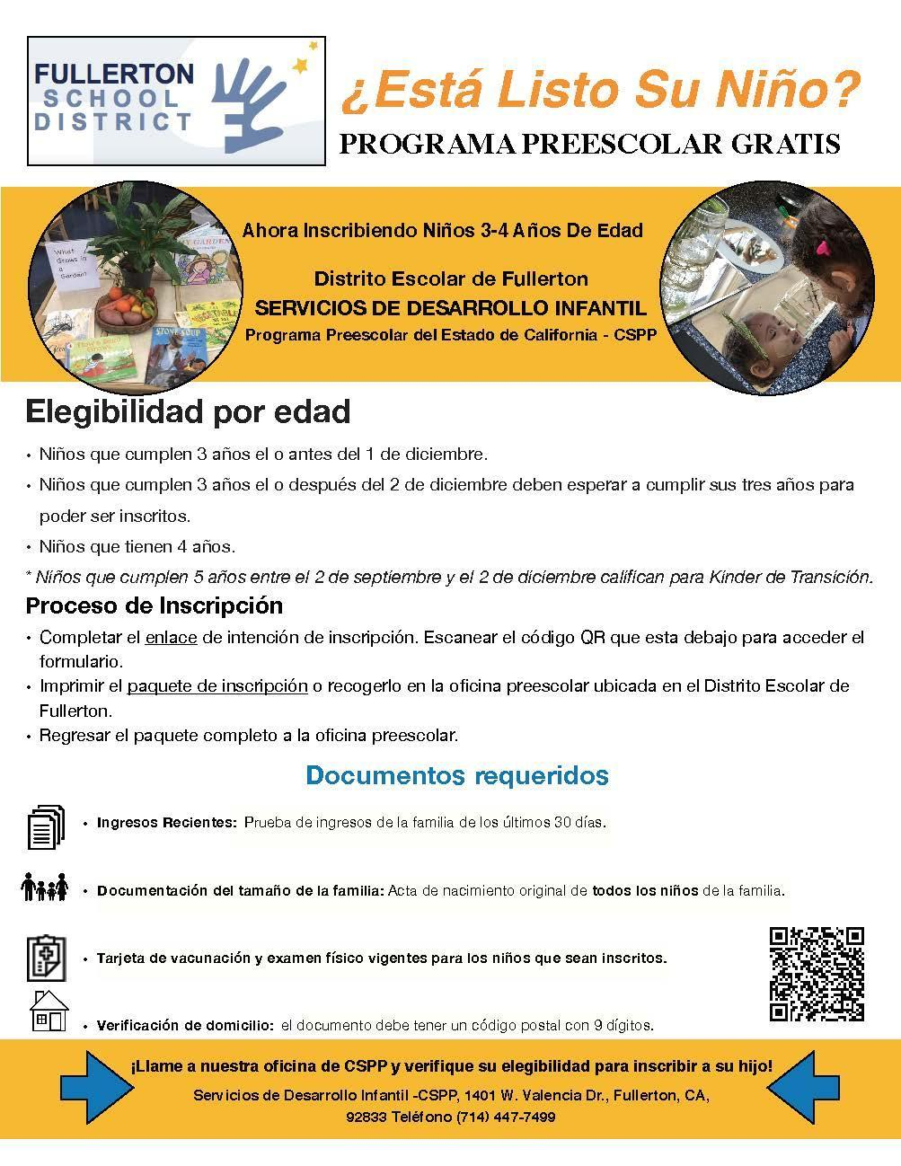 Flyer Spanish