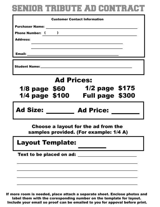 Ad Order Form