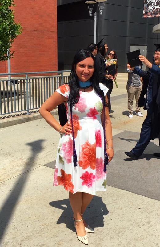 Aya at Graduation