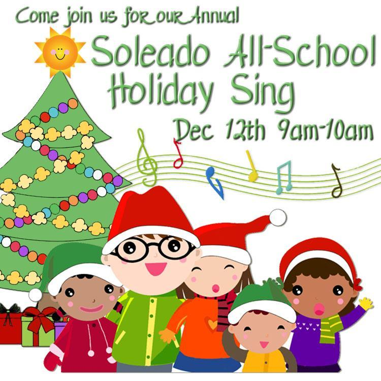 All School Holiday Sing Thumbnail Image