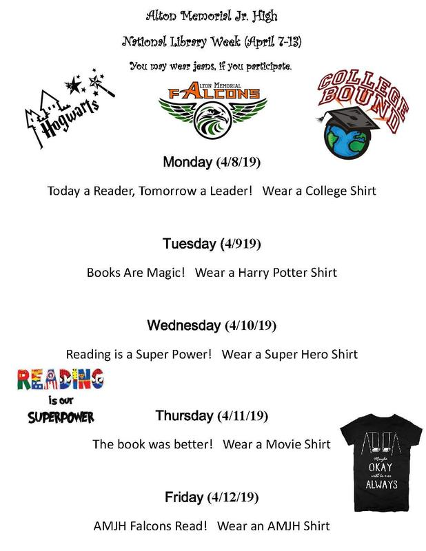 Library week themes