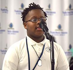 Ayden Warner 2020 NASD 3rd Place Spelling Bee