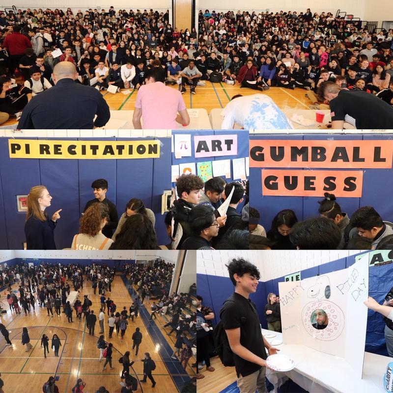 Maspeth High Mathematics Department Celebrated Pi Day Featured Photo