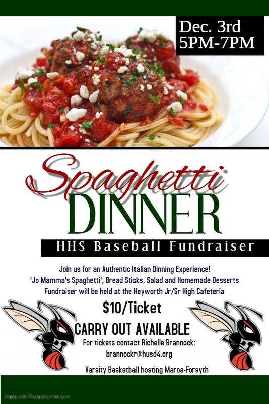 Spaghetti Fundraiser Image