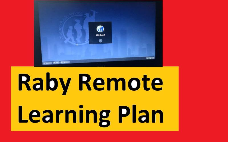 Raby Remote Learning Plan Featured Photo