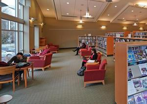 photo of library interior