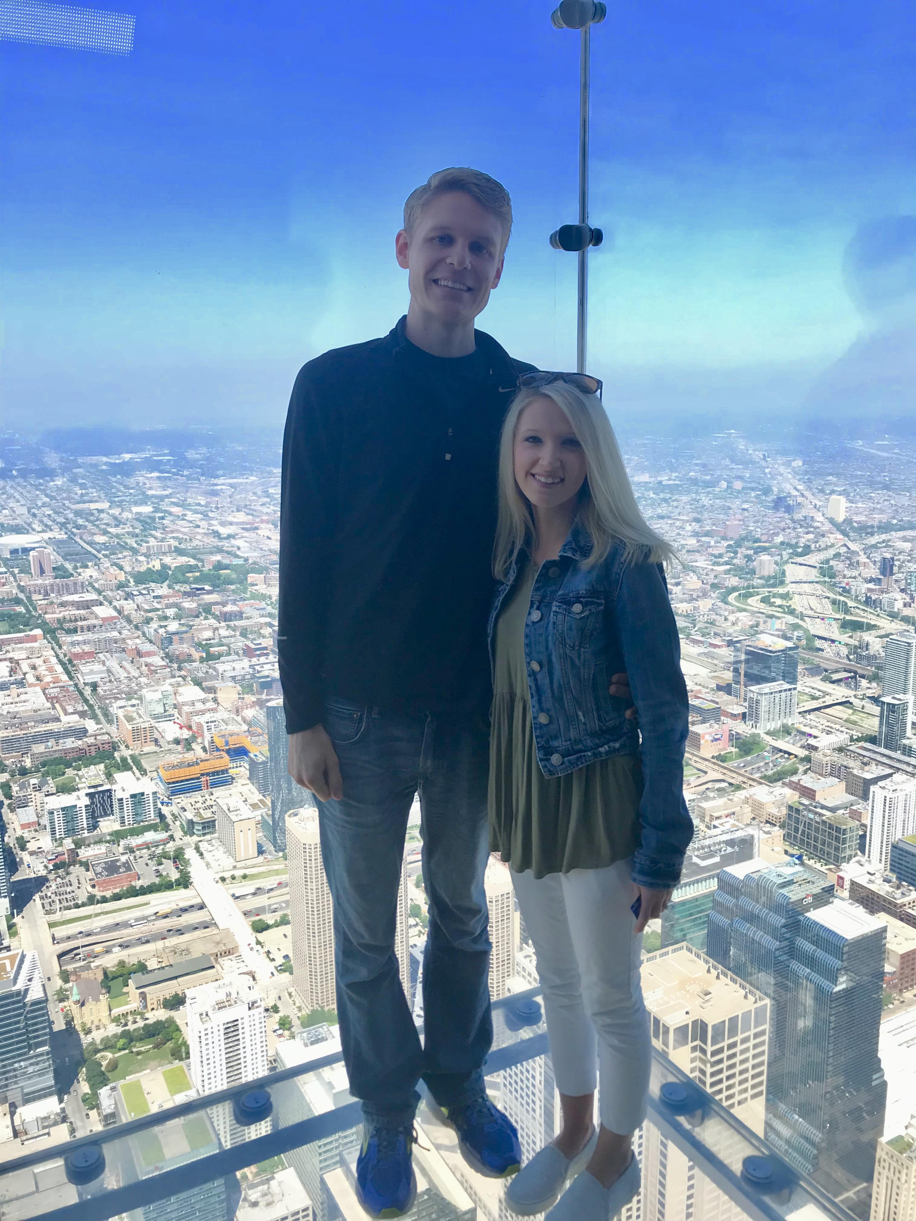 Willis Tower in Chicago 103 stories up!