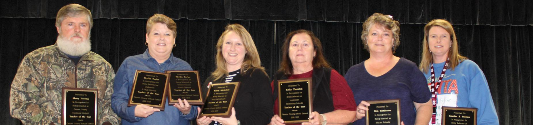 GCSD Teachers' of the Year