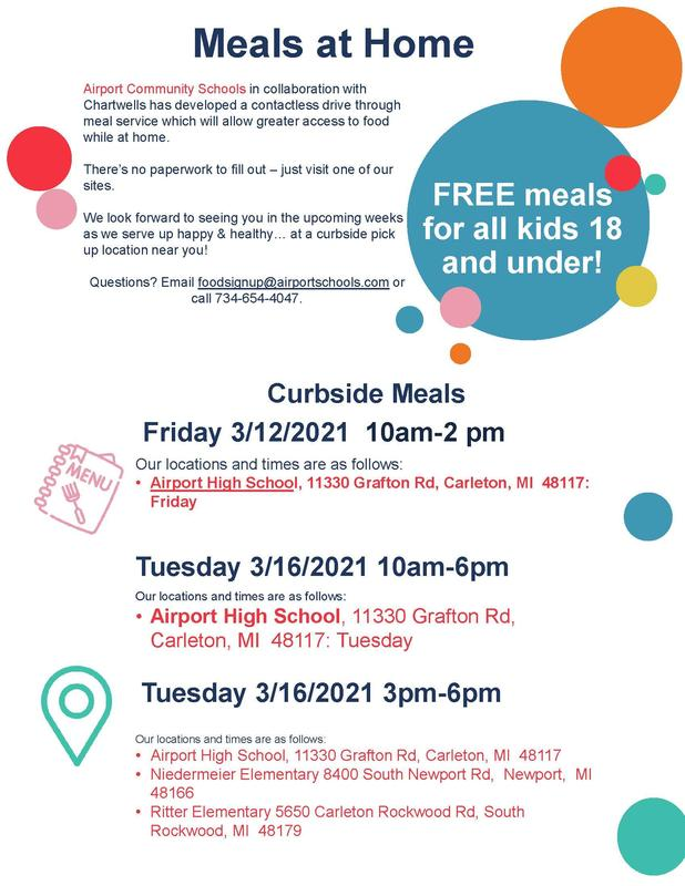 Free Meals information