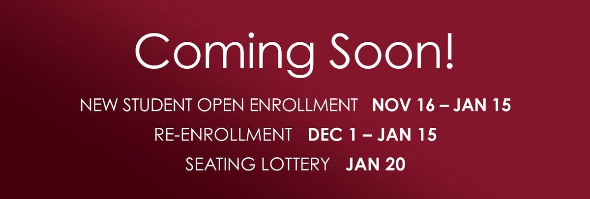 AMS Open Enrollment Starts November 16th