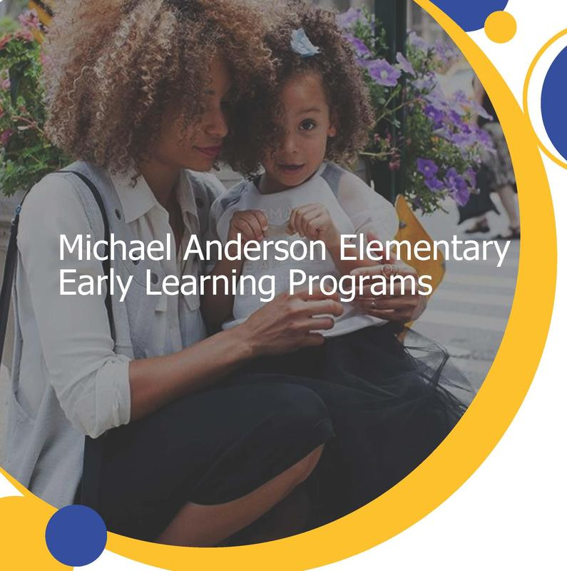 Logo for Michael Anderson Elementary Early Learning Programs