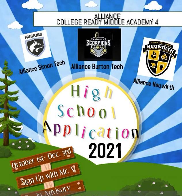 Alliance High School Application 2022-2023 Thumbnail Image