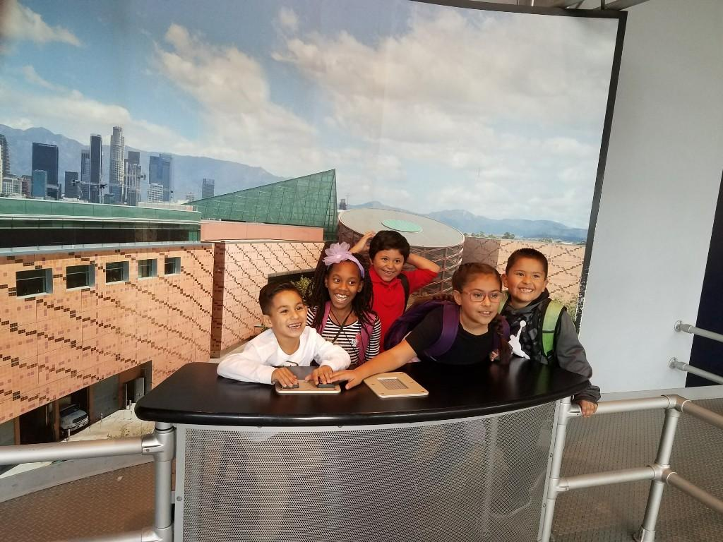 2nd graders at the California Science Center