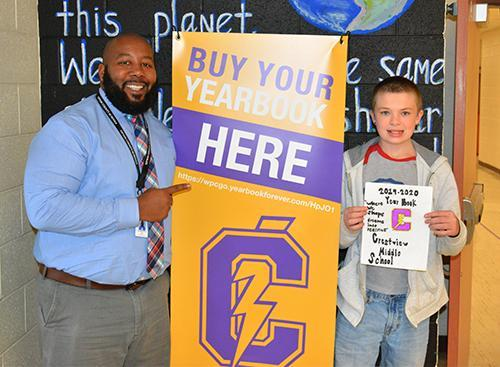 J. L. Anthony, Yearbook Cover Contest winner