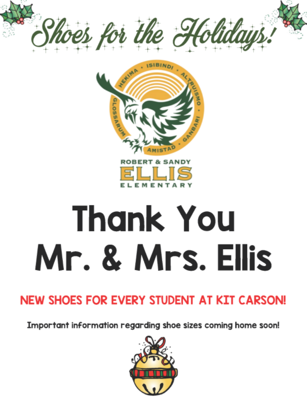Thank you Mr. and Mrs. Ellis! ¡Gracias Sr. y Sra. Ellis! Thumbnail Image