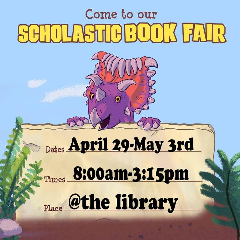 Book fair dates and times