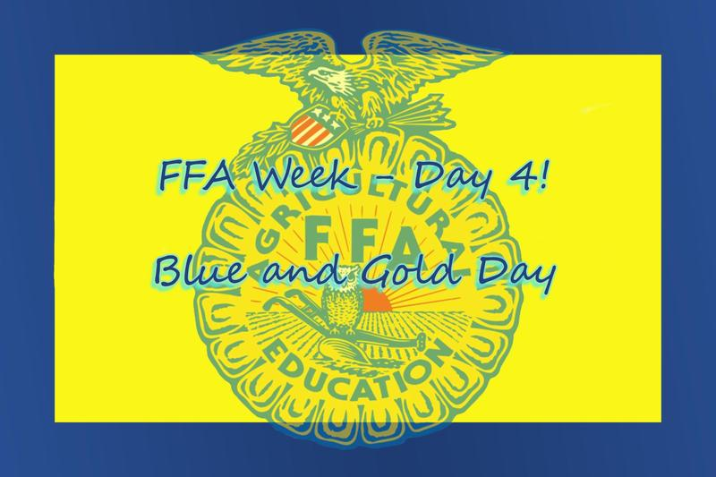 FFA Blue and Gold Day - TODAY - March 3, 2021 Featured Photo