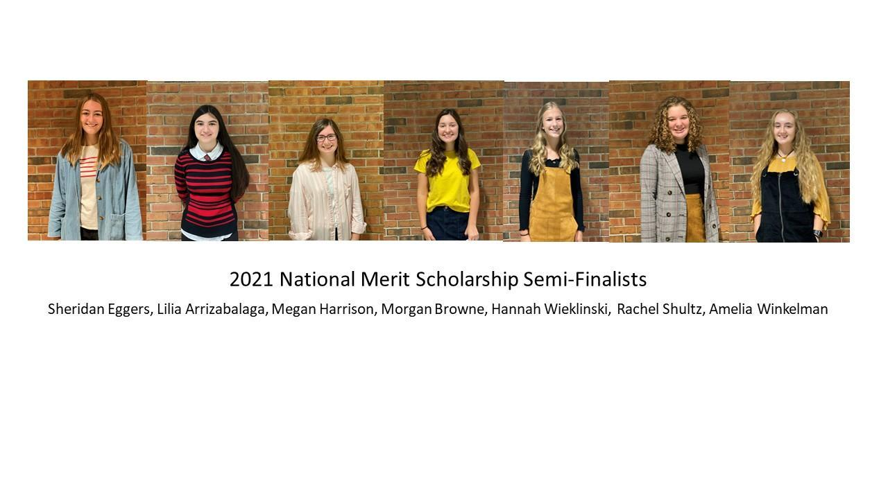2021 NMS Semifinalists