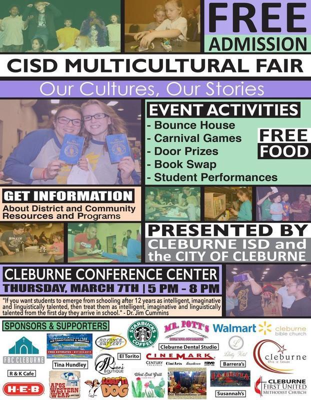 Annual CISD Multicultural Fair