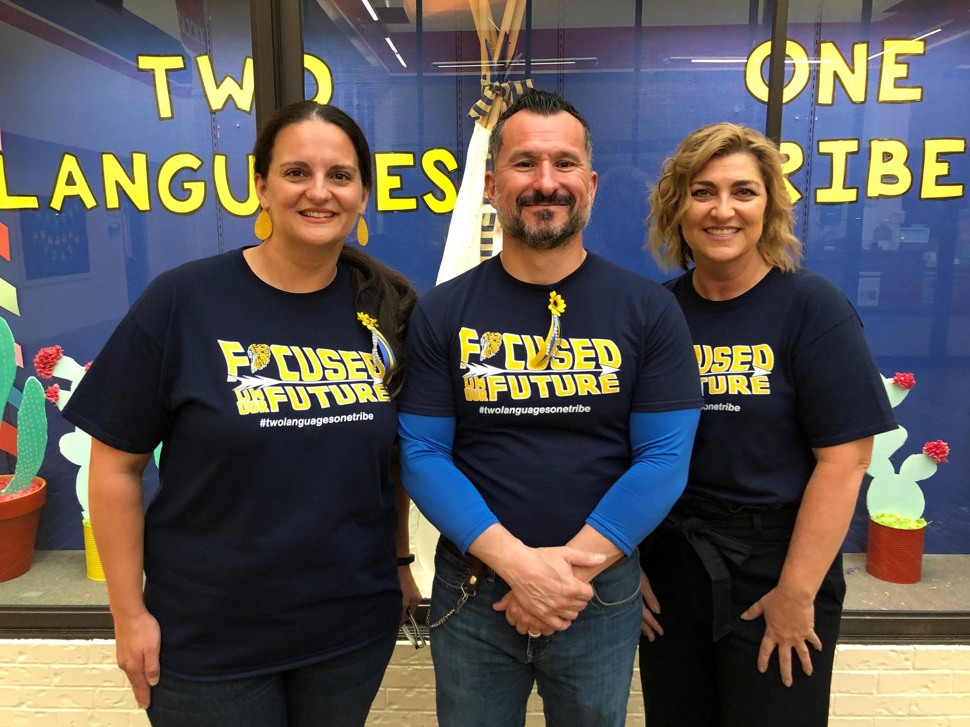 picture of principal and 2 assistant principals