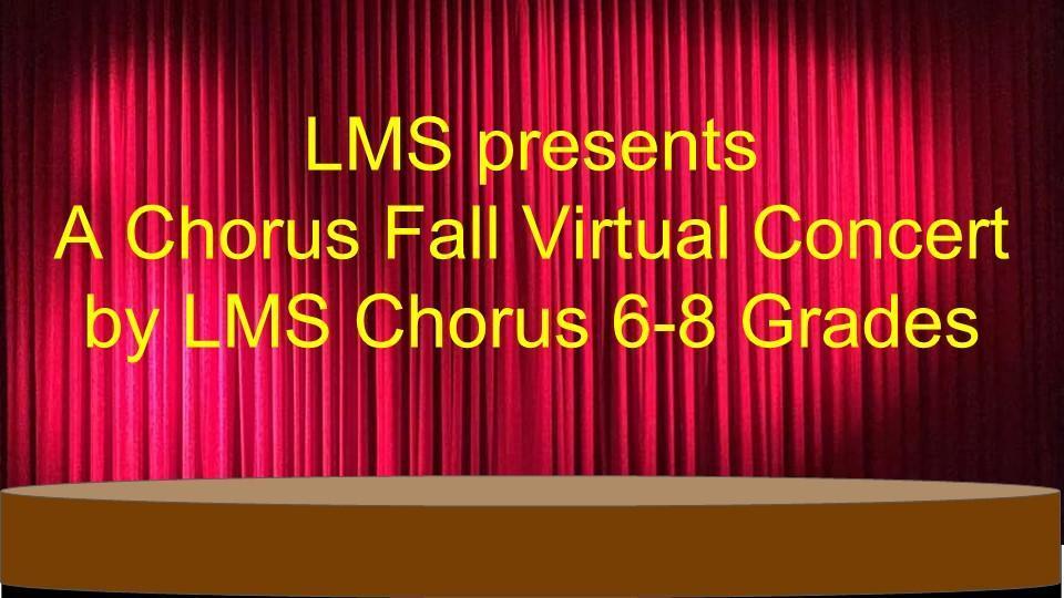 virtual fall chorus concet