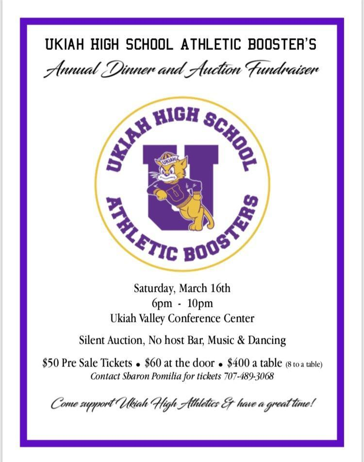 Ukiah Athletic Booster Dinner