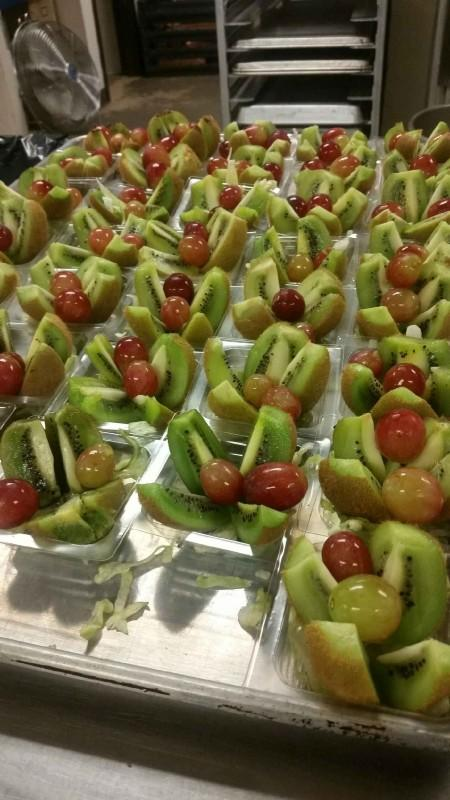 Kiwi and Grapes